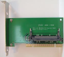 MiniPCI nach PCI-Adapterkarte
