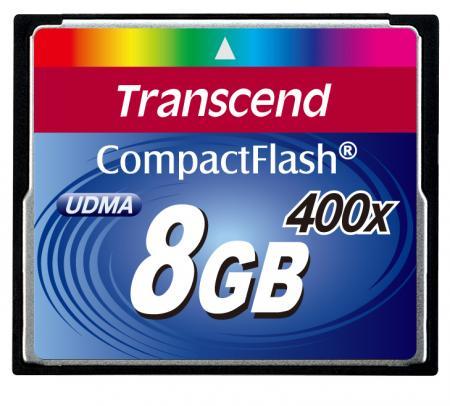 Transcend CompactFlash 8 GB 400x